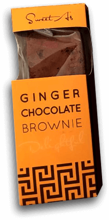 Ginger Chocolate Brownie