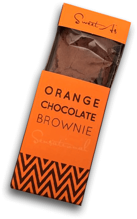 Orange Chocolate Brownie