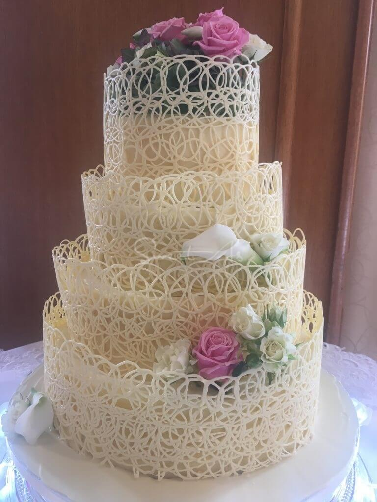 award winning white wedding cake recipe white chocolate wedding cakes www imgkid the image 10972
