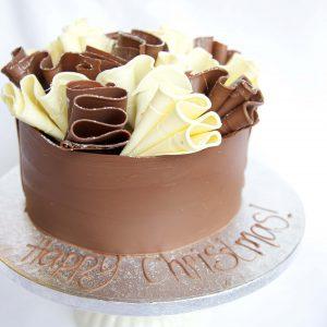 Chocolate Christmas Cake 1 45.00