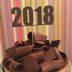 Chocolate and baileys caramel tart