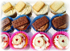 Tea Time Biscuits Cupcakes