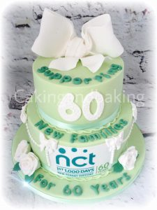 NCT Charity Bow Cake