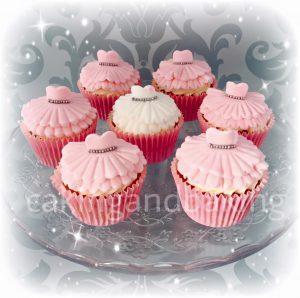 Hen Party Bridal Shower Dress Cupcakes