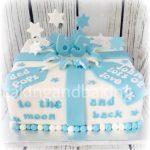 65th Birthday Explosion Cake