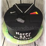 Referee 21st Birthday Cake