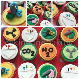 Mad Science Cupcakes
