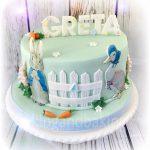 Peter Rabbit Beatrix Potter Birthday Cake