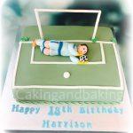 Goal Keeper Birthday Cake