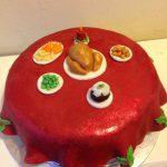 Christmas Dinner Cake