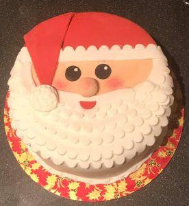Santa Christmas Cake