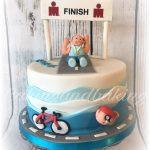 Triathlon Iron Man Cake