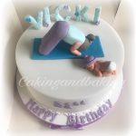Yoga Mum Cake