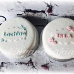 Twins Christening Cakes