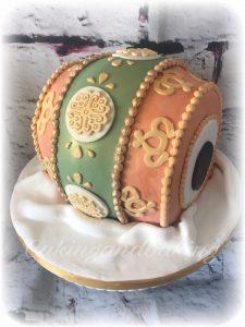 Indian Drum Cake