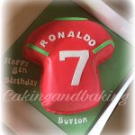 Ronaldo Birthday Cake