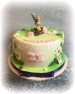 Tinkabelle Cake