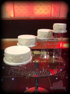 Cascade Wedding Cake