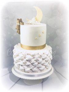 Baby Moon Billowed Cake